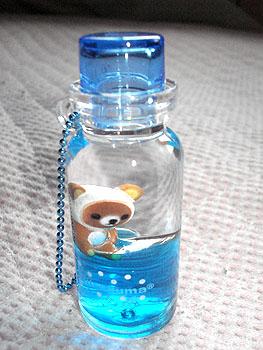 ボトル型 キーホルダー リラックマ