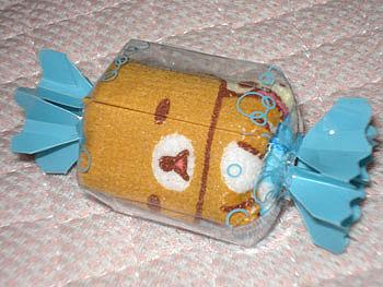 リラックマ  キャンディ型  タオル